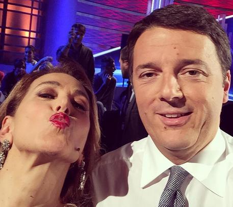 Barbara D'Urso, tra Renzi e me rapporto di stima