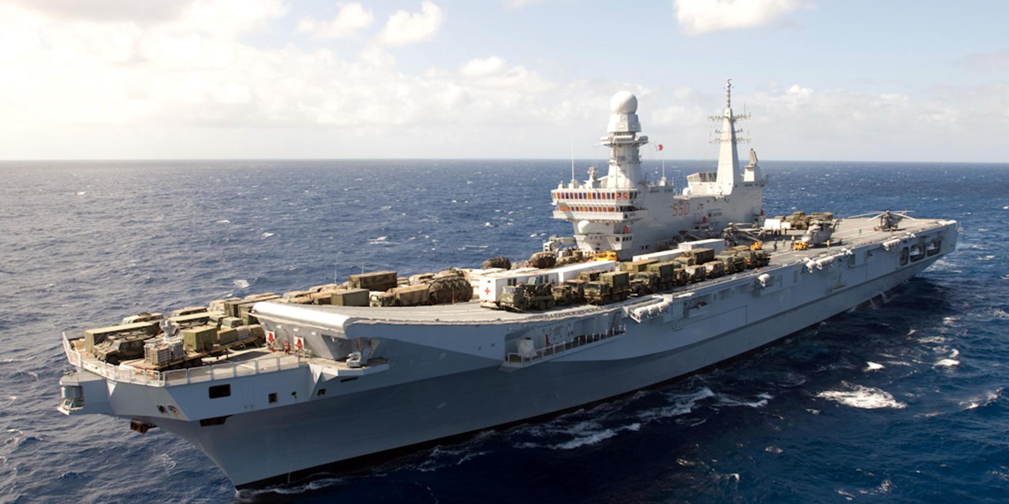 Via libera del parlamento al potenziamento della flotta - Nuova portaerei ...